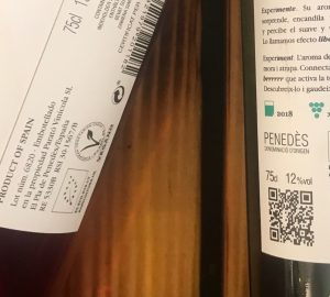 vegansk vin